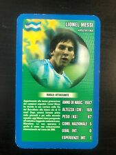 LIONEL MESSI TOP TRUMPS  VERY RARE NEW MINT