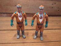 Vintage LOT Kenner Real Ghostbusters Slimed Heroes 1980's Action Figures
