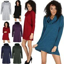 Polyester Long Sleeve Jumper Dresses for Women