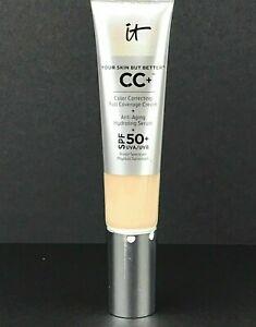 It Cosmetics CC+ Foundation 1.08oz FAIR NEW READ