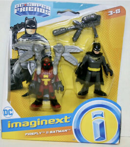 Imaginext DC Super Friends Firefly and Batman Action Figures BRAND NEW