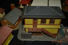 Huge lot  HO AND N Scale Buildings Freight Station, + other misc pieces