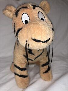 Vintage The Disney Store Winnie the Pooh Classic Tigger Sitting Plush Animal