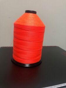 Nylon Bonded Thread # 69 Neon Orange
