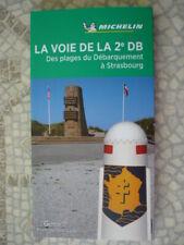 Guide vert Michelin – voies 2ème DB en 1944 des plages débarquement à Strasbourg