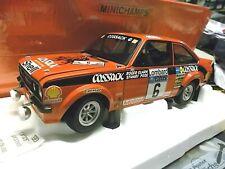 Ford Escort II rs1800 mk2 Rally RAC 1976 WM gb Cossack #6 Clark Minichamps 1:18