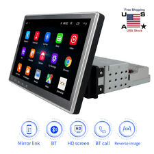 10.1'' Android 9.1 1DIN Car Stereo Radio GPS MP5 Multimedia Player Wifi Hotspot