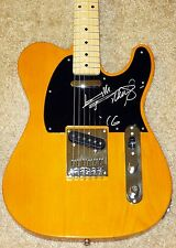 KEITH RICHARDS ROLLING STONES HAND SIGNED ELECTRIC GUITAR! FULL NAME! PROOF +COA