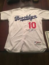 Jose Valentin Signed Game Used Jersey Dodgers Brooklyn Los Angeles With CERT.