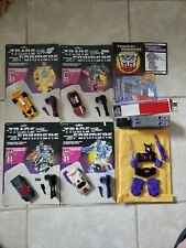 Transformers G1 Stunticons Menasor Combiner Complete with Cardback and Manuals