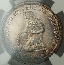 1893 Isabella 25c Silver Quarter NGC UNC Details *Very Choice BU* Deep PL Coin