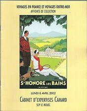 Catalogue de vente Affiches anciennes 2002 vintage poster
