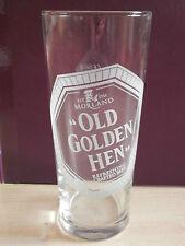 """Morland Old Speckled Hen """"Old Golden Hen"""" pint glass"""