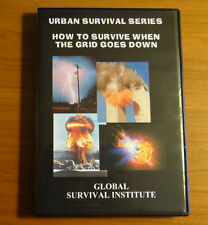 Z4  HOW TO SURVIVE WHEN THE GRID GOES DOWN - 2 DVD SET URBAN SURVIVAL MILITARY