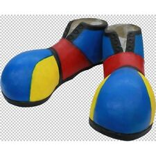 Feet Covers Rubber Full Size Clown Shoes - Fancy Dress Halloween Circus