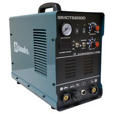Plasma Cutter 50a Simadre 110220v 5200d 200a Tig Arc Mma Welder Powerful Torch