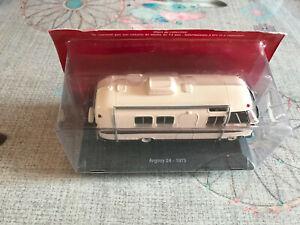 Voiture miniature Passion Camping Car Argosy 24 1975 Airstream au 1/43