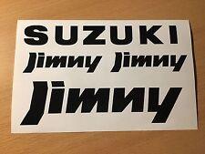 Jimny Aufkleber Set Offroad 4x4 Jäger Tuning Geländewagen Expedition Samurai NEU