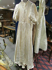 ancienne robe en soie vintage 1940 50 de soiree