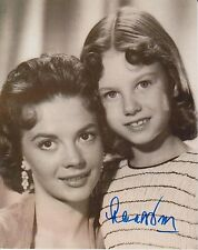 Lana Wood Signed Photo -The Young Searchers Star depicted, Sister Natalie G173