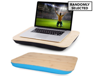 Portable Deluxe Bamboo Laptop PC Table Lap Tray Read Workstation