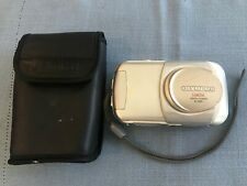 Olympus Camedia D-395 3.2MP Digital Camera Silver With Case