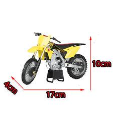 Yellow Suzuki RM-Z450 1:12 Dirt Bike Motocross Motobike Motorcycles Kids Toy NEW