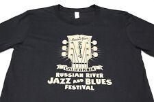 RUSSIAN RIVER JAZZ & BLUES FESTIVAL - CALIFORNIA - 2014 - 3XL SIZE T SHIRT!