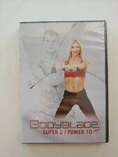 Bodyblade: Super 6 / Power 10 Training Dvd >New< Fitness, Workout