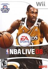 NBA Live 2008 WII New Nintendo Wii