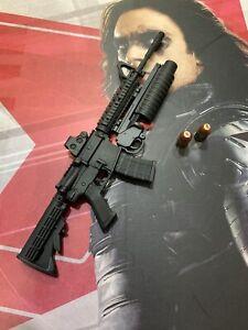 Hot toys MMS241 Captain America The Winter Soldier 1/6 machine gun
