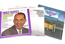 Percy Faith Greatest Hits, Themes For Young Lovers, Held Over Vinyl LP Records