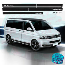 Sides+Back Stripes Stickers Kit fit VW T5 Transporter SWB, Multivan 3M Vinyl