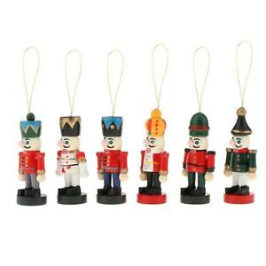 Christmas Ornaments Nutcracker Window Tree Hanging Decoration for Kids