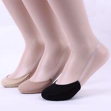 Schlinge Damenmode unsichtbare Socken 3Paare=1bündeln SLING BACK [DEFX]