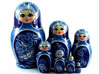 Matroschka puppe Babuschka Matrjoschka Russische holzpuppen Original 7 tlg 15 cm
