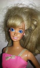Vintage Blonde Blue Eyed BARBIE DOLL, © Mattel Inc, 1966 Made In Malaysia