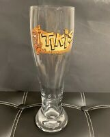 WAKIKI HAWAII TIKIS GRILL & BAR TALL PILSNER BEER GLASS 20 oz.
