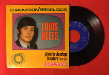 LOUIS NEEFS JENNIFER TE QUIERO EUROVISION 1969 BELGICA 07547 VG++ VINYLE 45T SP