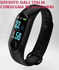 Smartband Orologio Bracciale Intelligente Sport Fitness Simile Xiaomi mi Band 4