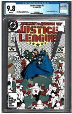 JUSTICE LEAGUE #3 CGC 9.8 (7/87) DC Comics White pages