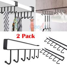 New listing Under-Cabinet Hanger Rack (6 Hooks) Kitchen Cupboard Storage Cupboard Shelf Hook