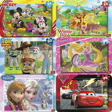 Kinder Puzzle Disney Pixar Toy Story, Frozen, Cars, Winnie PAW Patrol ab 3 Jahre