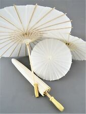 ombrello bianco carta sposa saggio damigella matrimonio wedding teatro cinese