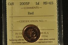 Canada 2005P Penny - ICCS - MS65 -