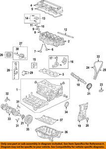 HONDA OEM-Engine Crankshaft Crank Seal 91214RNBA01
