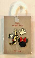 New listing Junk Food Disney Mickey Mouse Enamel Trading Pins New/Sealed - Mickey / Minnie