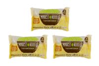 Miracle Noodle Fettuccine 3 Pack Shirataki Pasta GLUTEN FREE VEGAN LOW CARB
