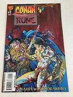 MARVEL COMICS CONAN VS RUNE COMIC BOOK CONAN THE BARBARIAN #1 NOVEMBER 1995