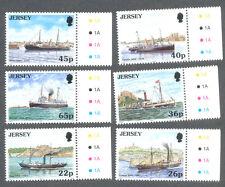 Jersey - Mail Packet ships mnh (2001)